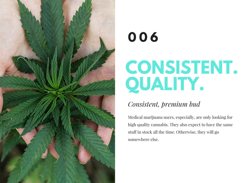 have quality bud to bring in new customers to your dispensary